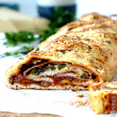 35 Minute No Wait No Rise Stromboli (AKA How to Make Rolled Pizza)