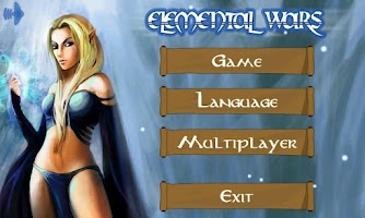 Screenshot of Elemental Wars