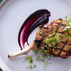 Pork Chops with Cherry Mustard Recipe