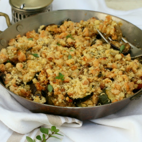 10 best roast aubergine and courgette recipes yummly for Courgette and tomato bake bbc
