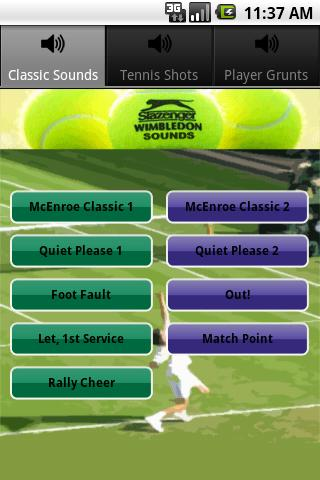 Sounds of Wimbledon