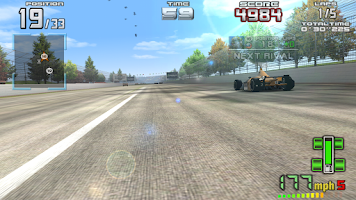 Screenshot of INDY 500 Arcade Racing