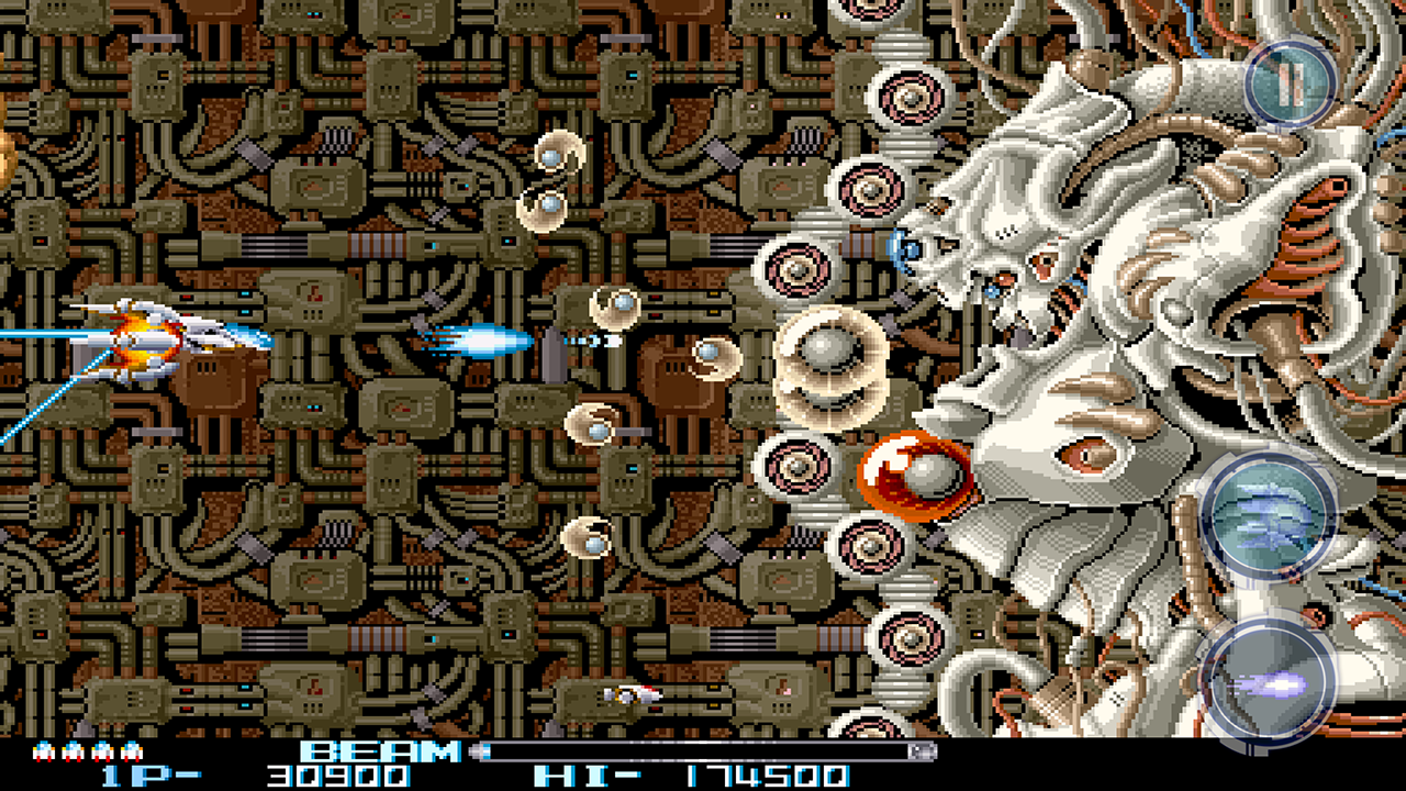 R-TYPE II Screenshot 1
