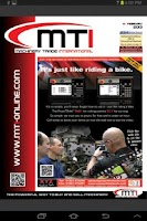 Screenshot of MTI Magazine