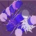 Crazy Home Purple Decor Art icon