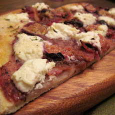 Figgy Bacon, Ricotta & Thyme Pizza
