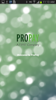 Screenshot of ProPay