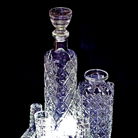 by Felice Bellini - Artistic Objects Cups, Plates & Utensils ( elegant, drink, glass, crystal, bottle, party )