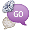 GO SMS - Diamond Lace icon