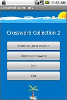 Screenshot of Crossword Collection Vol.2
