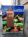 Peinture Sur Poubelle