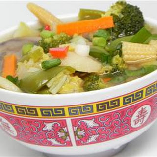 Chinese Vegetable Soup Recipes