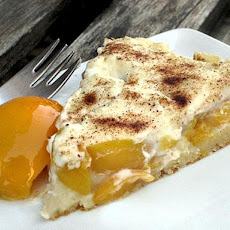 Cream Cheese Peach Cake