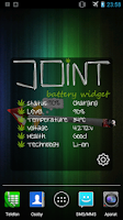 Screenshot of Cannabis Joint Battery Widget