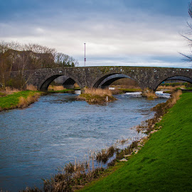 Ellon Aberdeenshire Scotland by Derek Robinson - Buildings & Architecture Bridges & Suspended Structures ( nikon d90 ellon aberdeenshire scotland )