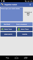 Screenshot of GullyCricket Scorer Free
