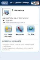 Screenshot of NOTA FISCAL PAULISTANA