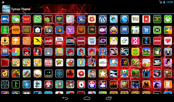 Screenshot of Tymax - Icon Pack