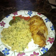 Breaded Parmesan Chicken