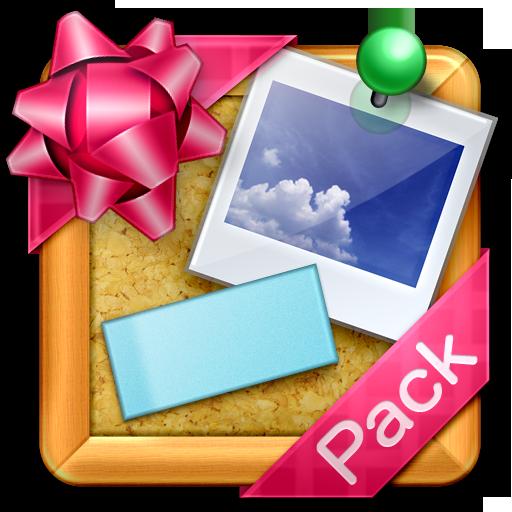 コルクボードウィジェット テーマ(ポップ) 生活 App LOGO-硬是要APP