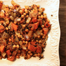 Smoked Paprika Wild Rice, Sweet Potatoes and Chickpeas