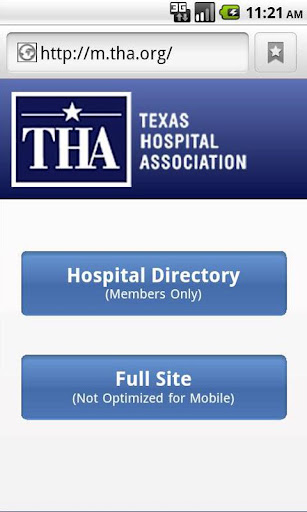 THA Members Hospital Directory
