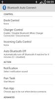 Screenshot of Bluetooth Auto Connect
