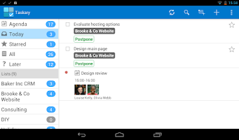 Screenshot of Google Tasks, To-do - Taskary