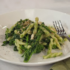 Gemelli ''Twin'' Pasta with Broccoli Rabe Pesto