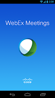 Screenshot of Cisco WebEx Meetings