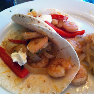Shrimp And Pepper Fajitas