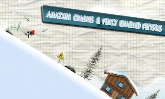 Screenshot of Stickman Ski Racer