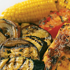 Grilled Summer Vegetables and Corn