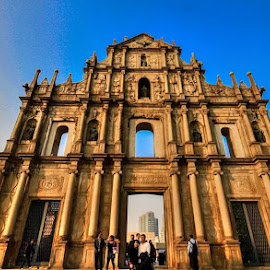 Unesco  World Heritage Ruins Of St. Paul Macao S.A.R. (1590) by Resty del Rosario - Buildings & Architecture Public & Historical