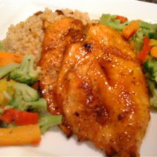 Spicy Peach Chicken