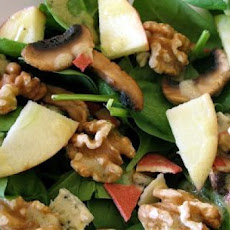 Warm Mushroom and Stilton Salad