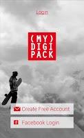 Screenshot of MyDigipack for Photos & Videos