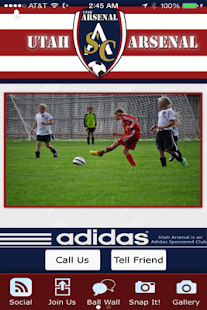 Utah Arsenal Soccer Club - screenshot