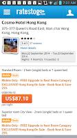 Screenshot of RatesToGo: Last Minute Hotels