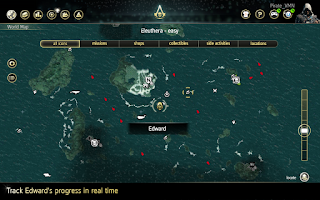 Screenshot of Assassin's Creed® IV Companion