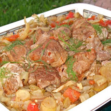 Braised Pork With Fennel (Crock Pot)