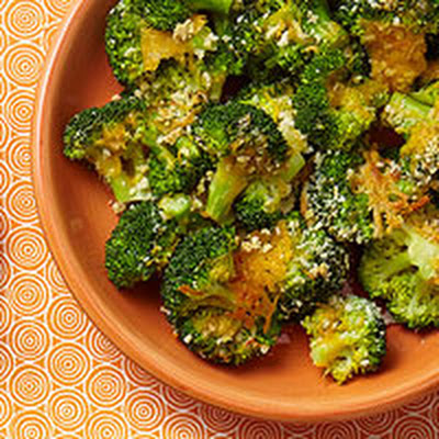 Crispy Cheesy Broccoli