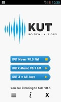 Screenshot of KUT 90.5 Music, News, & NPR