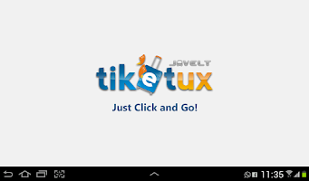 Screenshot of Tiketux