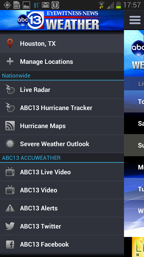 houston channel 13 weather app