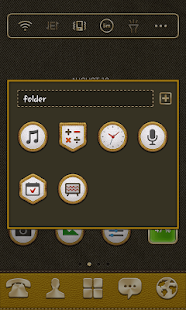 Dand Badge LINE Launcher theme - screenshot