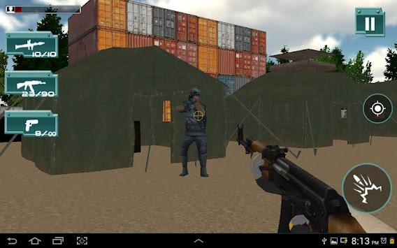 COMMANDO COUNTER STRIKE:ATTACK APK screenshot thumbnail 13