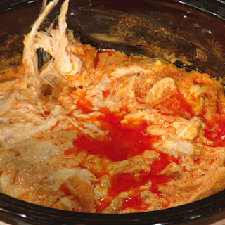 Lara Spencer's Slow Cooker Buffalo Chicken Dip