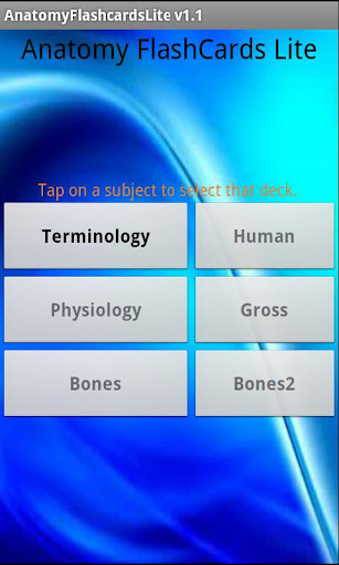 Anatomy Flashcards Lite