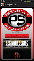 Screenshot of Precision Boxing Coach Free
